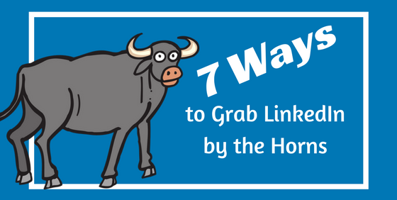 7 Ways to Grab LinkedIn by the Horns
