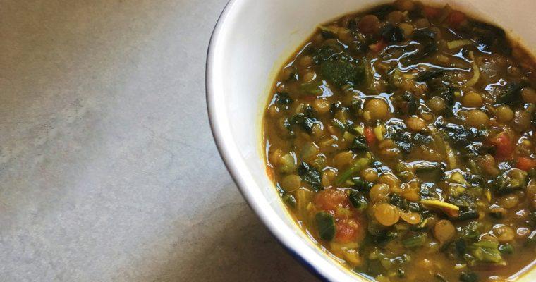 Getting Senti-Lentil with Coconut Lentil Soup